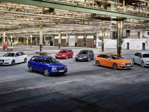 Celebrating 25 Years of the Audi RS cars.