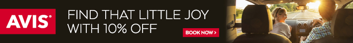 Avis - Find that little joy with 10% off
