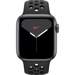Apple Watch Nike Series 5 GPS, 40mm Space Grey Aluminium Case with Anthracite/Black Nike Sport Band