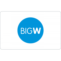 Big W Instant Gift Card - $500