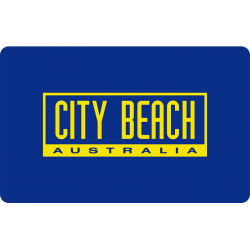 City Beach Instant Gift Card - $50