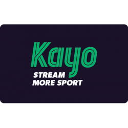 Kayo Sport Instant Gift Card - $25