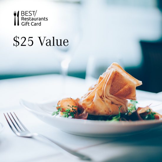 Dining Card - $25 Value