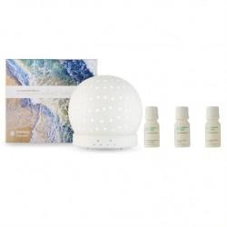 Endota Live Well Essential Oil Diffuser and Essential Oil Pack - Spirit, Dream, Calm