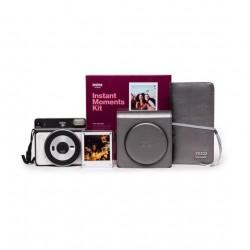 FujiFilm Instax SQUARE SQ6 Instant Camera Instant Moments Kit (Pearl White)
