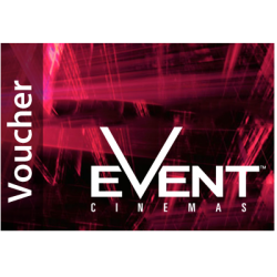 Event Cinemas One Admission - Standard Session Instant Flexi E-Gift Card