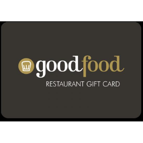 Good Food $50 Instant Flexi E-Gift Card