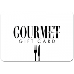 Gourmet Traveller $50 Instant Flexi E-Gift Card