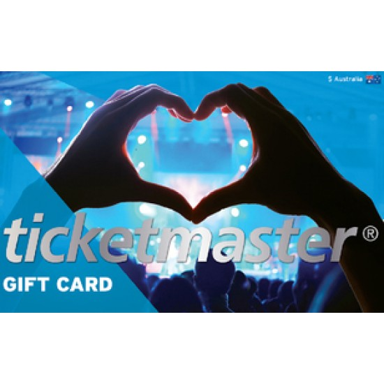 Ticketmaster Instant Gift Card - $250