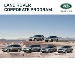 Land Rover is offering access to their Land Rover Corporate Programme on all new vehicles