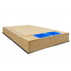 Lifespan Kids Mighty Sandpit with Wooden Cover