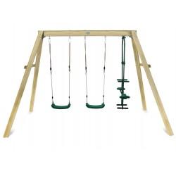 Lifespan Kids Forde 3-Station Timber Swing Set