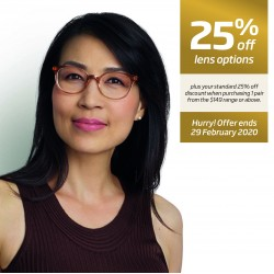 Hot Offer: 25% off Lens Options through Specsavers Corporate Club