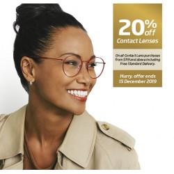 20% off Contact Lenses through Specsavers Premium Club