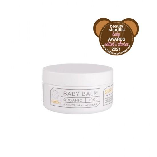 The Base Collective Sleepy Magnesium & Lavender Baby Balm 100g