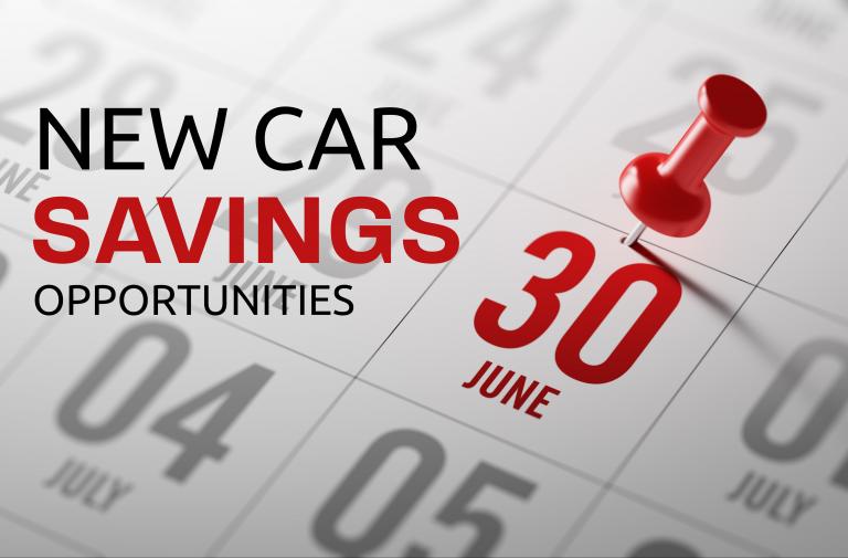 New Car Savings Opportunities